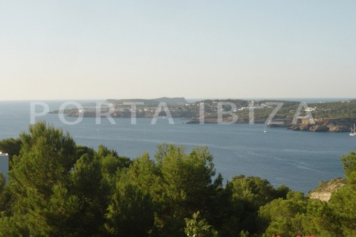 sea view-cala moli-spacious villa