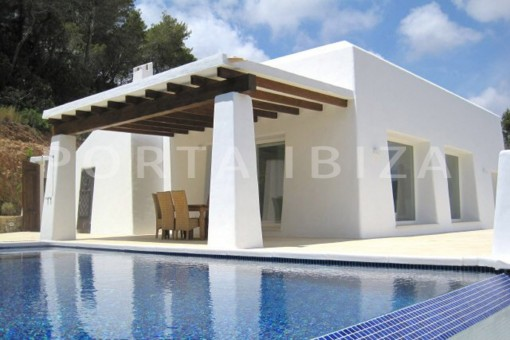 Moderne Neubauvilla mit fantastischem Blick