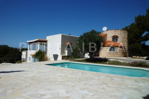 terrace & pool-Cala-Vadella-villa