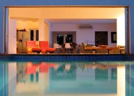 villa-view-from-pool-to-terrace-Cala-Vadella