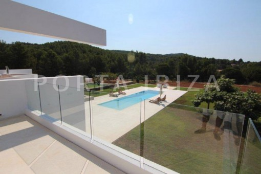 Pool Area-San-Juan-Garten-Pool-Villa