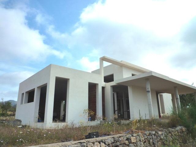 Rohbau-San-Carlos-Villa