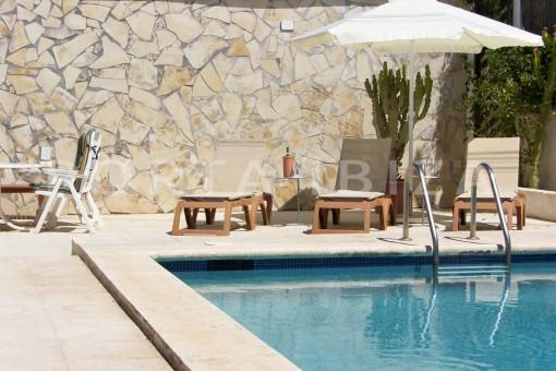 chill area-nice house-Ibiza