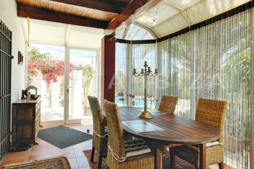 dinner-nice house-Ibiza
