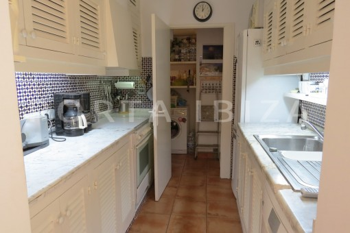 kitchen & pantry-fabulous semi detached house with stunning sea views