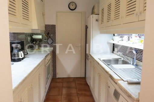 kitchen-fabulous semi detached house with stunning sea views