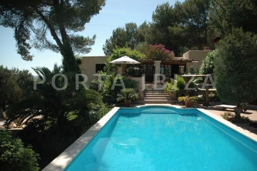 Wunderschöne, sehr gepflegte Villa, unweit von Santa Gertrudis