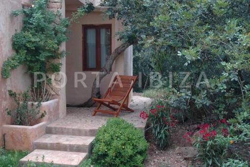 garden & living-villa-Santa Gertrudis