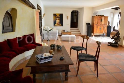 livingroom-villa-Santa Gertrudis