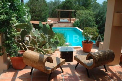 pool view-villa-Santa Gertrudis