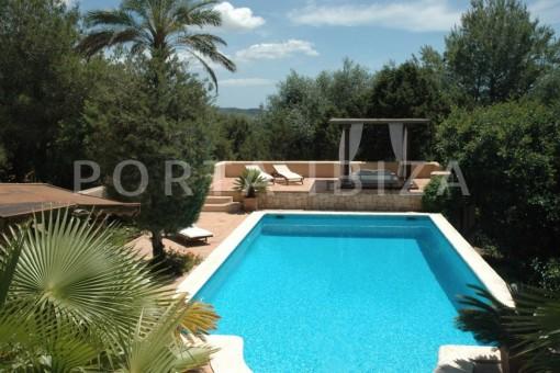pool-villa-Santa Gertrudis
