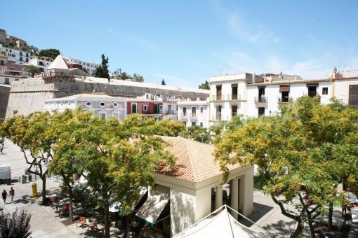 market square-Ibiza-apartment