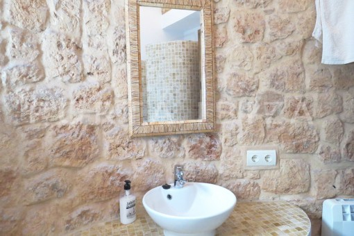 bathroom-fantastic finca with sea views