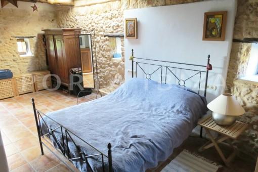 bedroom-fantastic finca with sea views