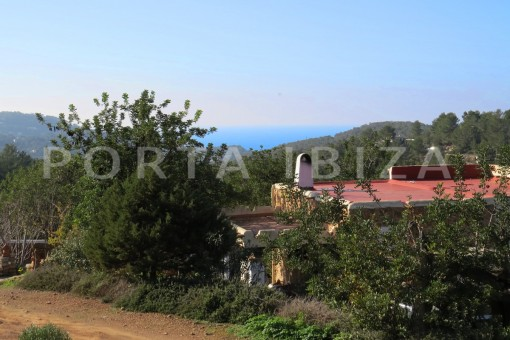 Fantastic finca with sea views