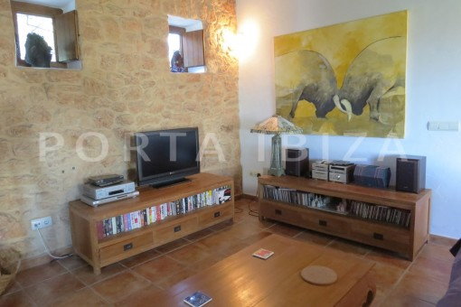 media center-fantastic finca with sea views