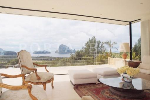 es vedra living-fantastic villa-es vedra-ibiza