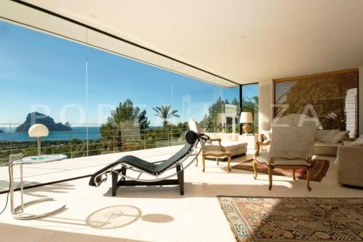 living-fantastic villa-es vedra-ibiza