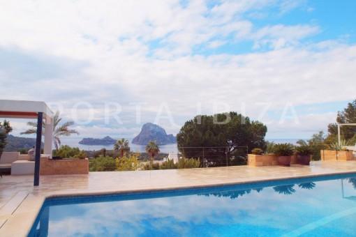 pool-fantastic villa-es vedra-ibiza