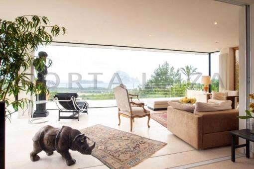 relax & living-fantastic villa-es vedra-ibiza