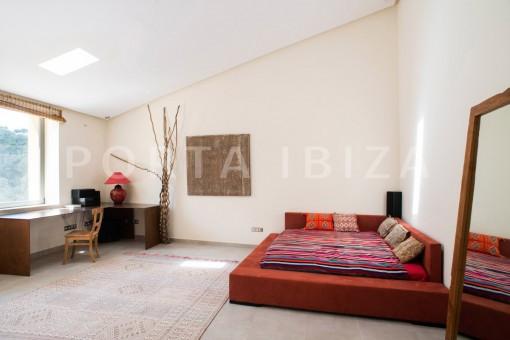 bedroom4-wonderful villa-seaview-roca llisa