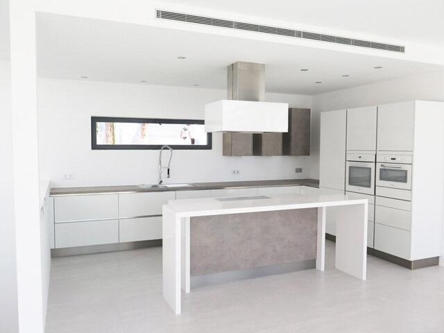 Küche-Modern-Villa-Vista Alegre-Meerblick-Es Cubells
