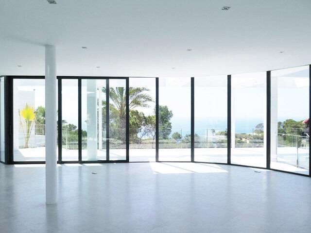 Wohnzimmer-Modern-Villa-Vista Alegre-Meerblick-Es Cubells