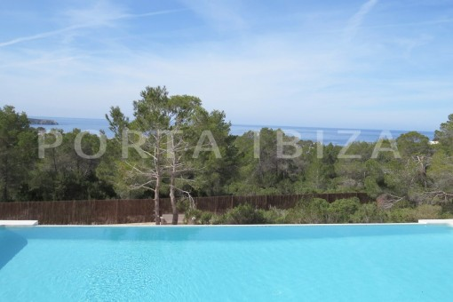 pool view-luxury property-fantastic sea views-sunset views-cala tarida