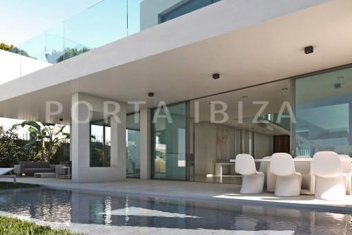 dinner & pool-cala lena-ibiza-project
