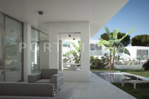pool & chill-cala lena-ibiza-project