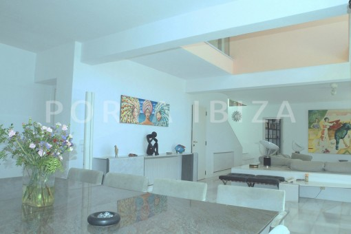 dinner & livingroom-unique property