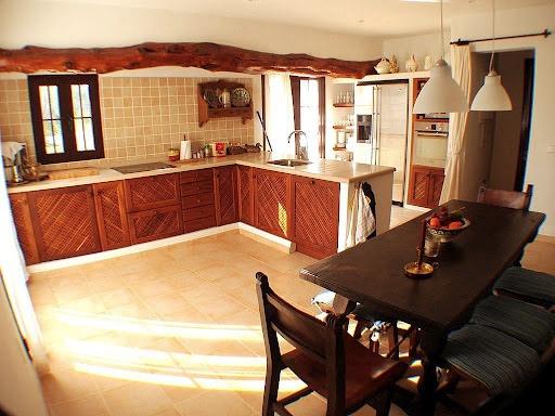 Küche-Santa Eularia-wunderbare Villa