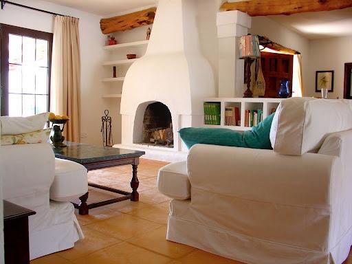 Wohnzimmer-Santa Eularia-wunderbare Villa