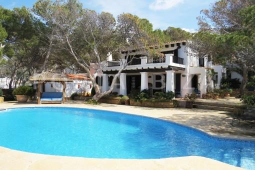 Haus in Cala Vadella
