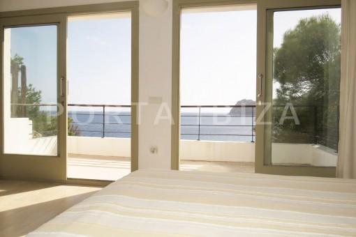 bedroom view-marvelous villa-es cubells
