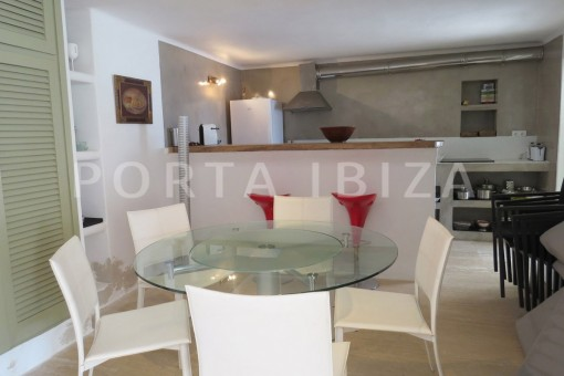 dinner & kitchen-marvelous villa-es cubells