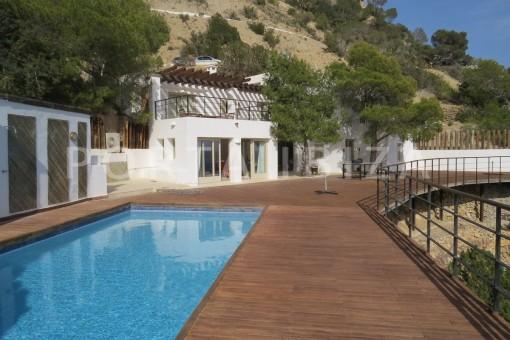 pool area-marvelous villa-es cubells