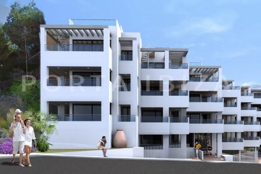 Hochwertige Neubauwohnungen  direkt am Strand...