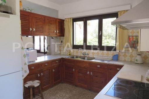 kitchen-charming house-santa eularia