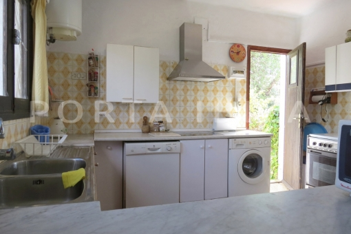 laundry & kitchen-charming house-santa eularia