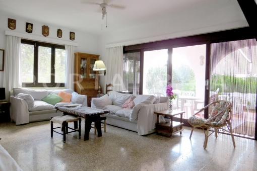 living area-charming house-santa eularia