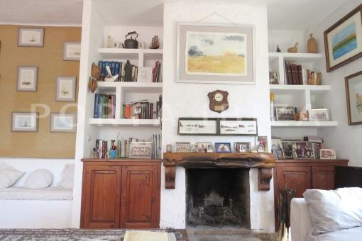 living-charming house-santa eularia
