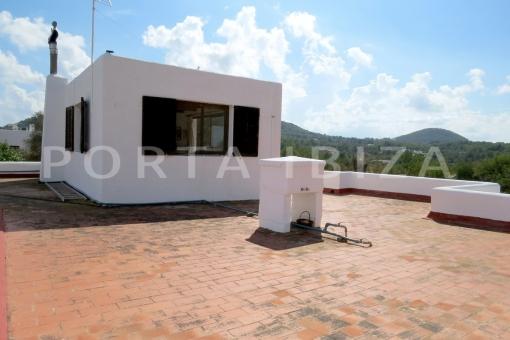 roof terrace-charming house-santa eularia