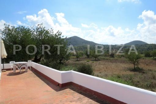 terrace-charming house-santa eularia