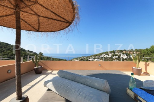 chillout roofterrace-apartment-cala carbó