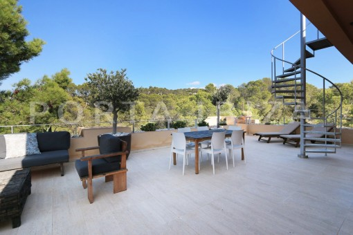 dinner & BBQ-apartment-cala carbo