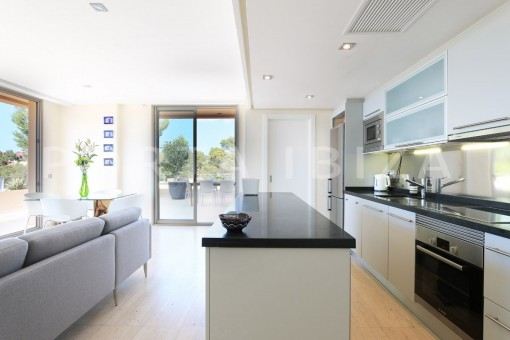 kitchen & living-apartment-cala carbó