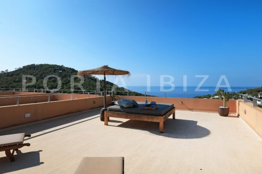 roofterrace chillout-apartment-cala carbó