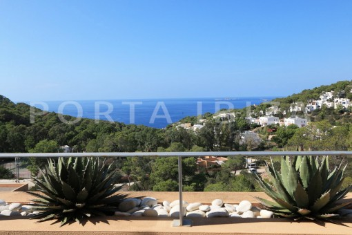 rooftop view-apartment-cala carbó