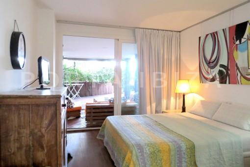 bedroom2-wonderful apartment- Botafoch-Ibiza